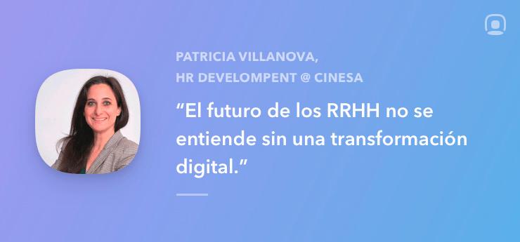 Entrevista a Patricia Villanova HR Development en CINESA