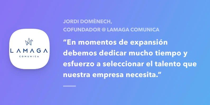 Entrevistamos a Jordi Domènech, Lamaga Comunica
