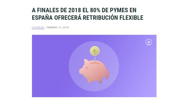 retribucion flexible pymes 2018