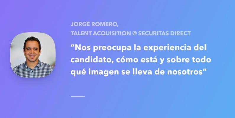 Entrevista con Jorge Romero, Talent Acquisition Manager en Securitas Direct