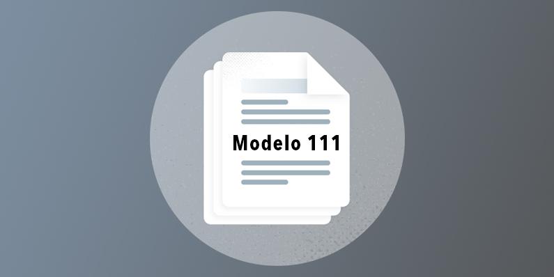 Modelo 111 programa nominas