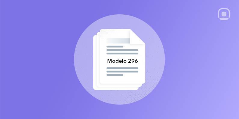 Cómo presentar telemáticamente el modelo 296
