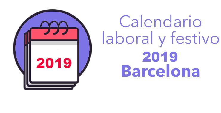 calendario fiestas barcelona 2019