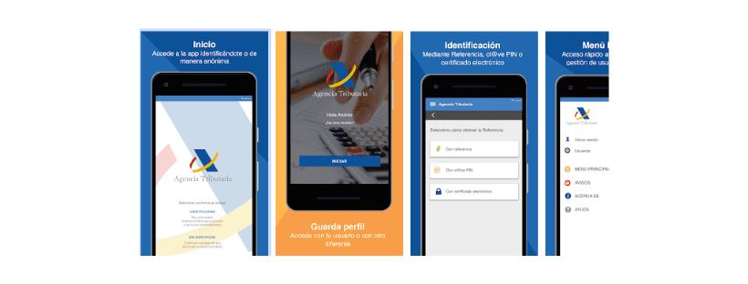 app agencia tributaria declaración de la renta