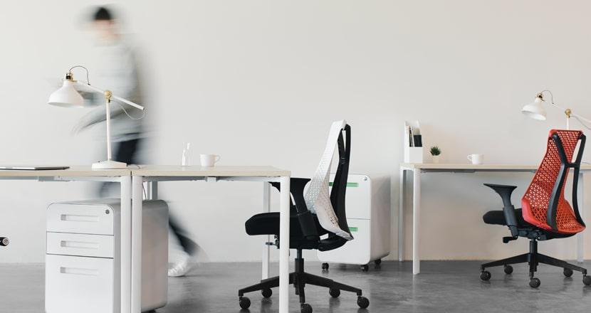 espacio de trabajo oficinas