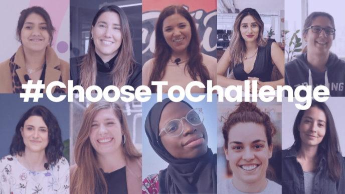 día internacional de la mujer choose to challenge factorial
