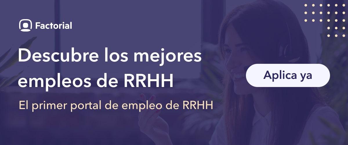portal de empleo de rrhh